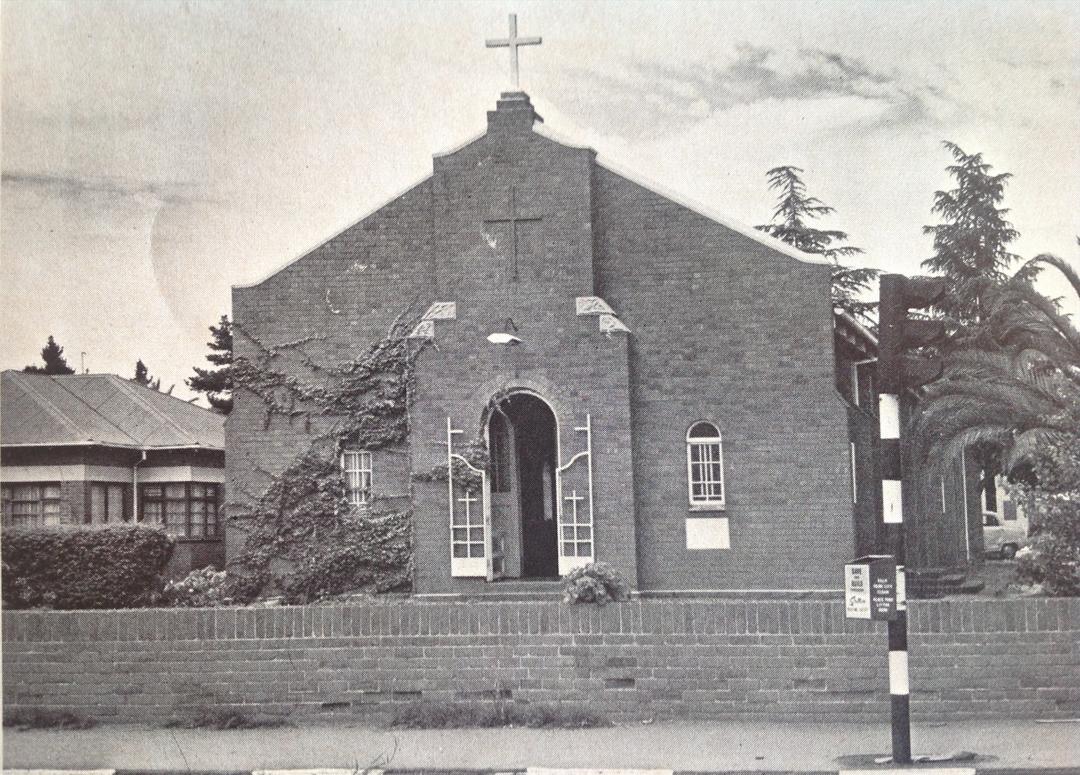 St Thérèse Catholic Church Edenvale First Church 1938-1968